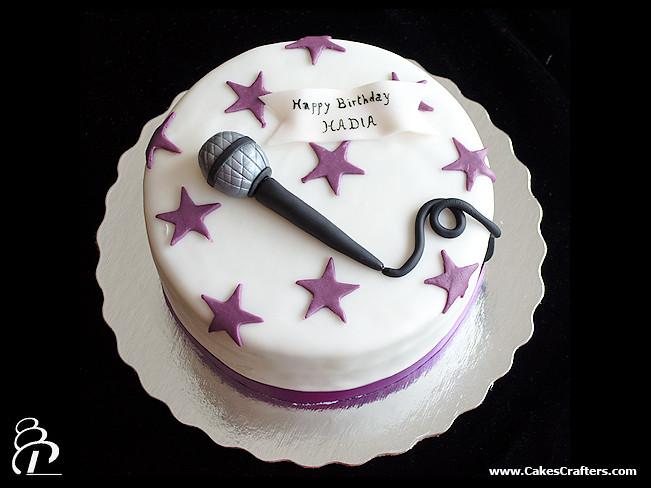 Singer Birthday Cake Images