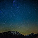 Orionid Meteors over Aspen Highlands and Pyramid Peak