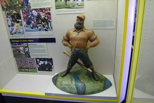 Paul Bunyan Trophy at the Margaret Dow Towsley Sports Muse ...