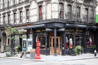 The former Bader's Cafe, now a location of Ernest Sewn, Orchard Street, Manhattan | by Eating In Translation