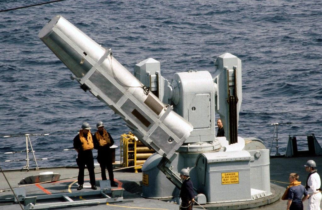 Sea Dart Ras D95 Hms Manchester Royal Navy Mediterranea