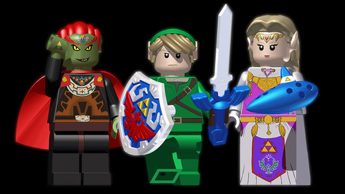 The Legend of Zelda - LEGO CUUSOO | by fbtb