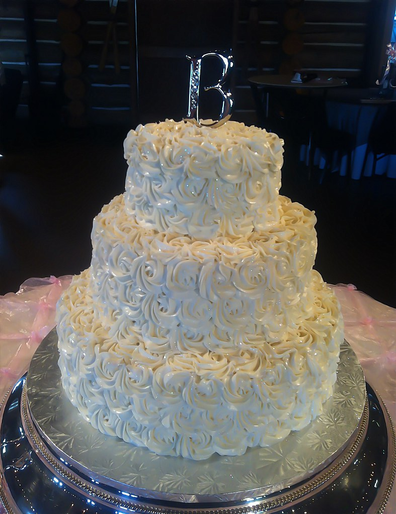 rosette wedding cake all things cake tulsa ok flickr