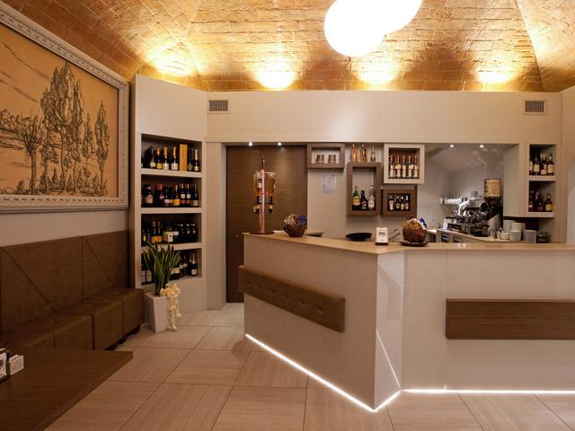 rustic cafe design by marchi interior design