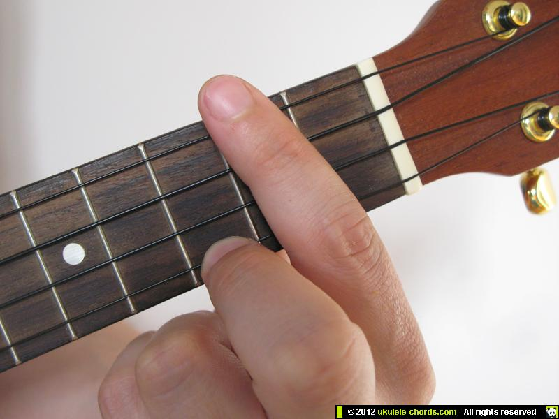 D7 Ukulele Chord How To Play A D7 On The Soprano For Alte Flickr