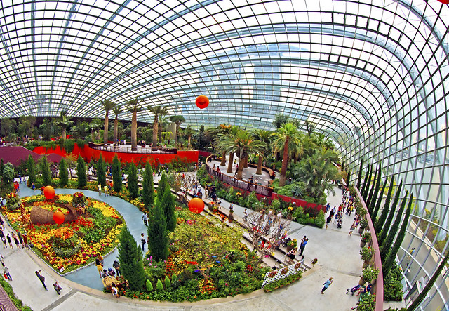Flower dome gardens by the bay singapore flickr photo sharing - Garden by the bay flower show ...