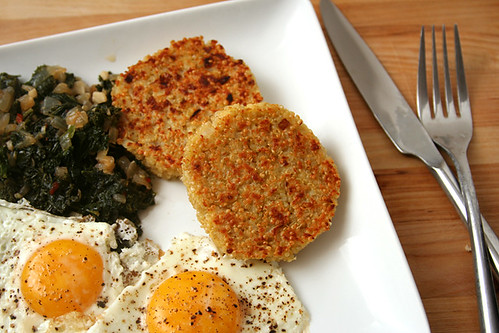 quinoa cakes 5 | by crumblycookie