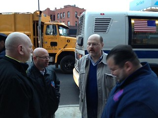 MTA Chairman and CEO Joe Lhota Talks With Transit Union Leaders | by MTAPhotos
