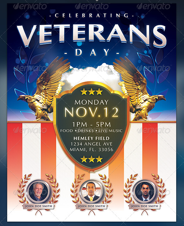 veterans day flyer view more about this template or follow flickr