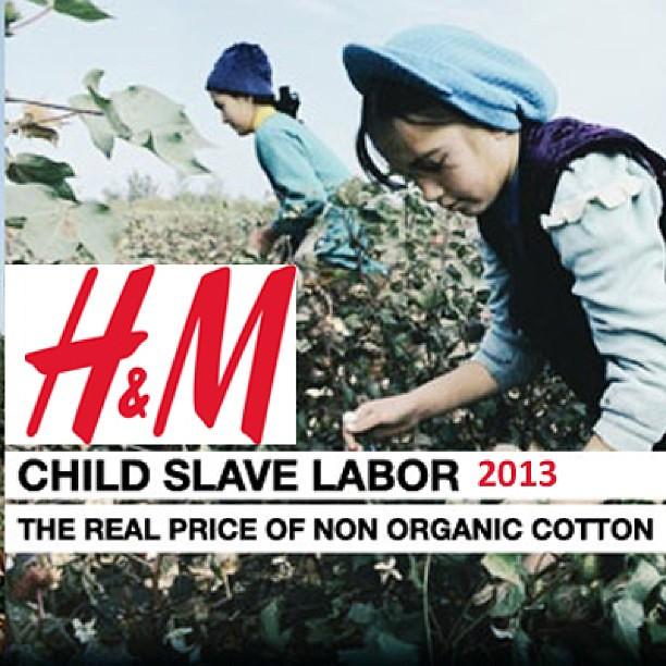 H&M found guilty of CHILDREN SLAVE LABOR in Uzbekistan ...