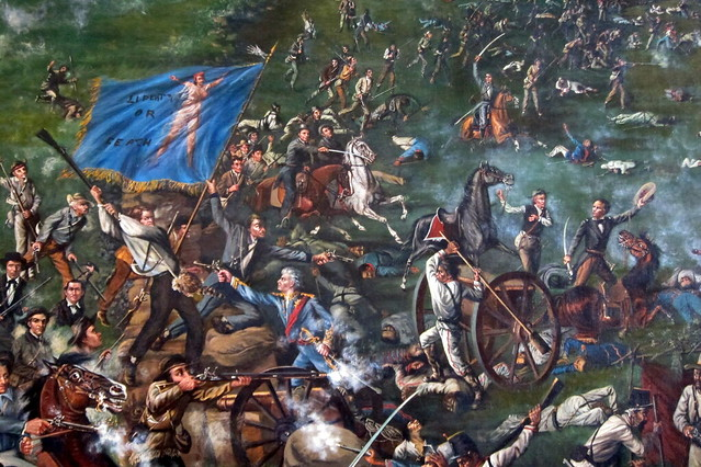 Austin Texas State Capitol Senate Chamber Battle Of S
