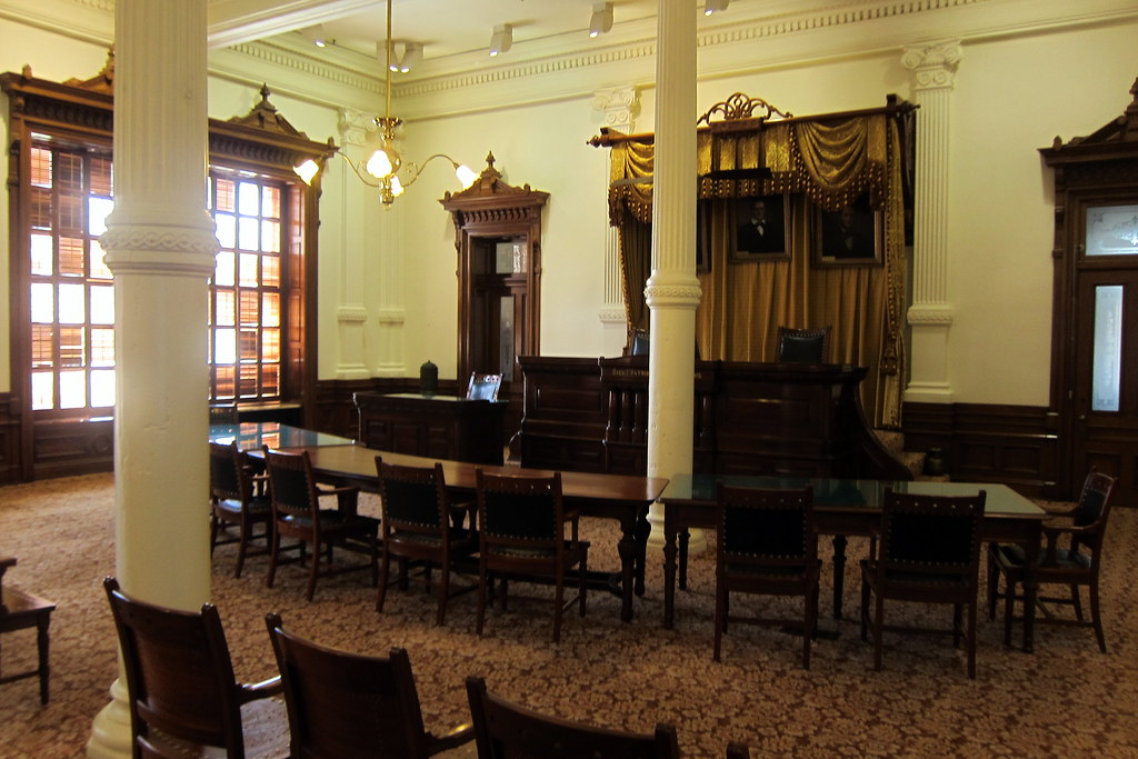 Austin Texas State Capitol Supreme Court Courtroom Flickr