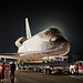 Toyota Tundra pulls the Space Shuttle Endeavour