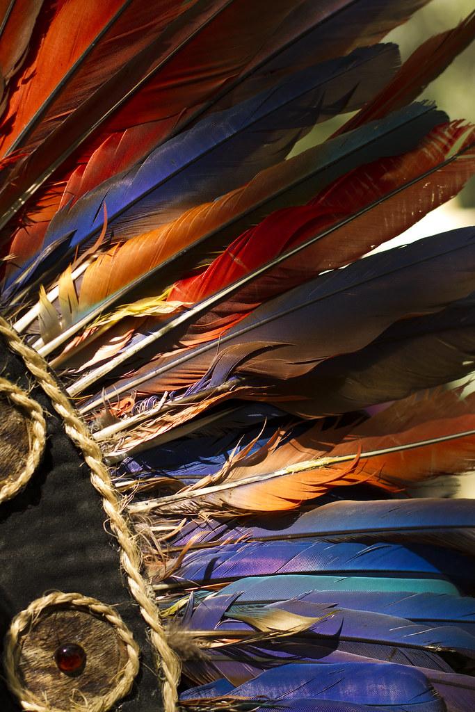 Penacho Guerrero Azteca Erikacm6y Flickr