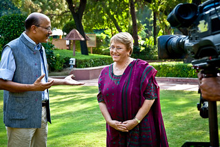 UN Women Executive Director Michelle Bachelet interviews on Walk the Talk | by UN Women Gallery