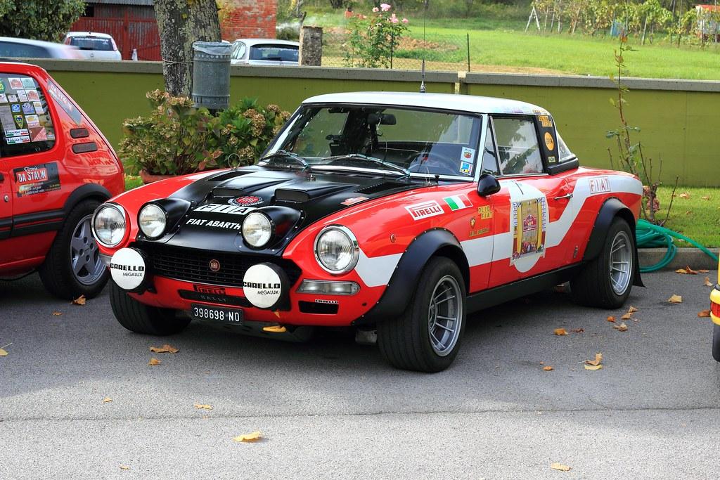 Fiat Abarth 124 Sport Spider Rally Alessio Flickr