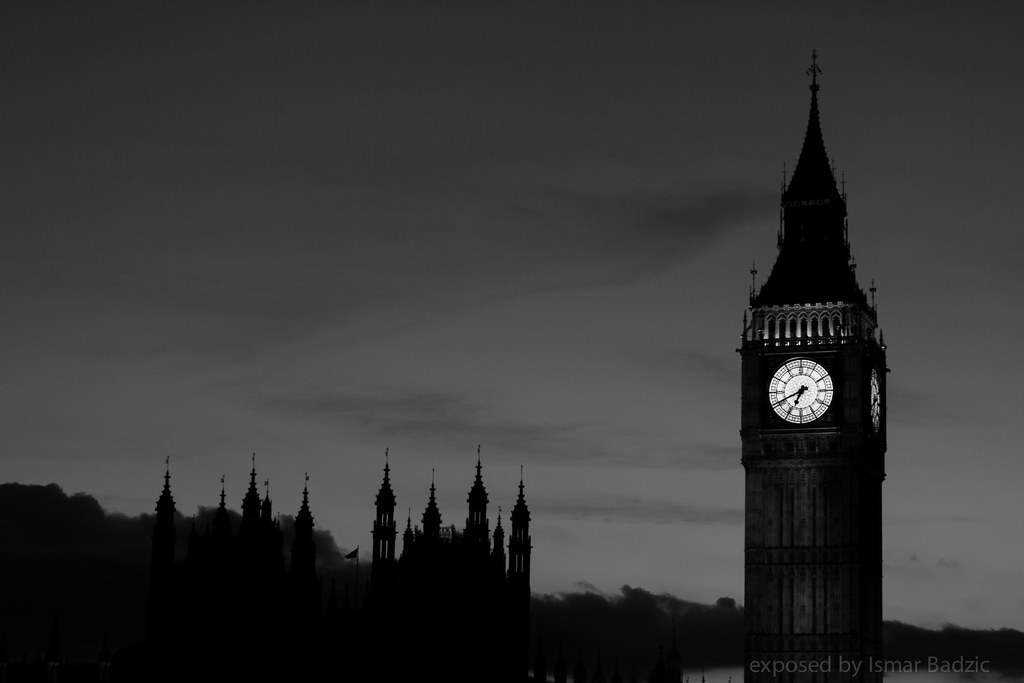 London Big Ben Landscape I Realised That Although I M