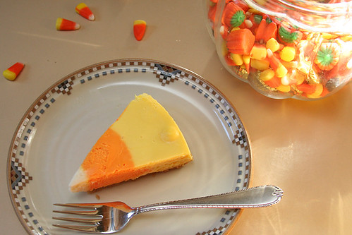 candy corn cheesecake 10 | by crumblycookie