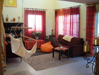 sitting hammock in the living room | ofer el-hashahar | flickr