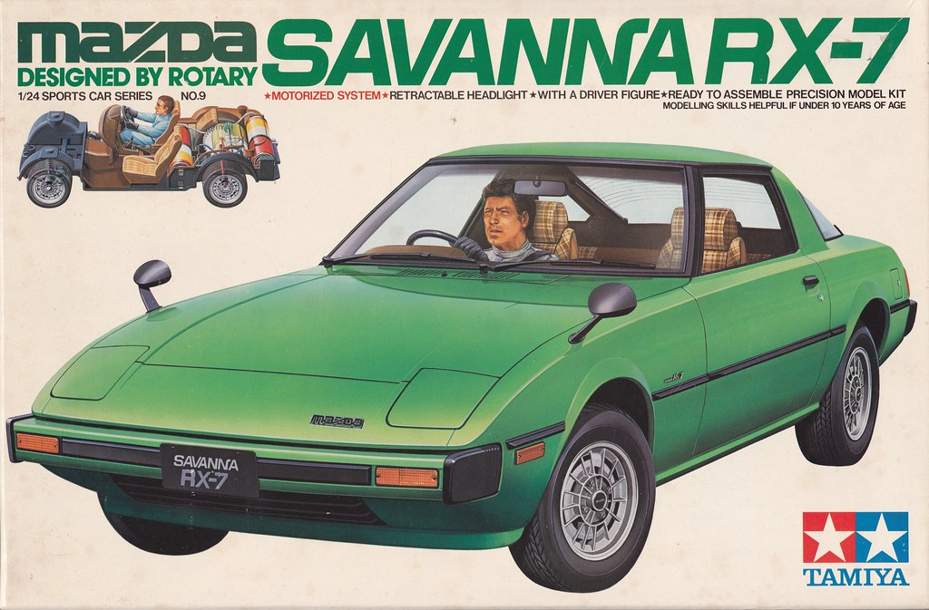 Mazda Rx 7 Savanna Sa Fb Tamiya Ss2409 9 1 24 Co Japan