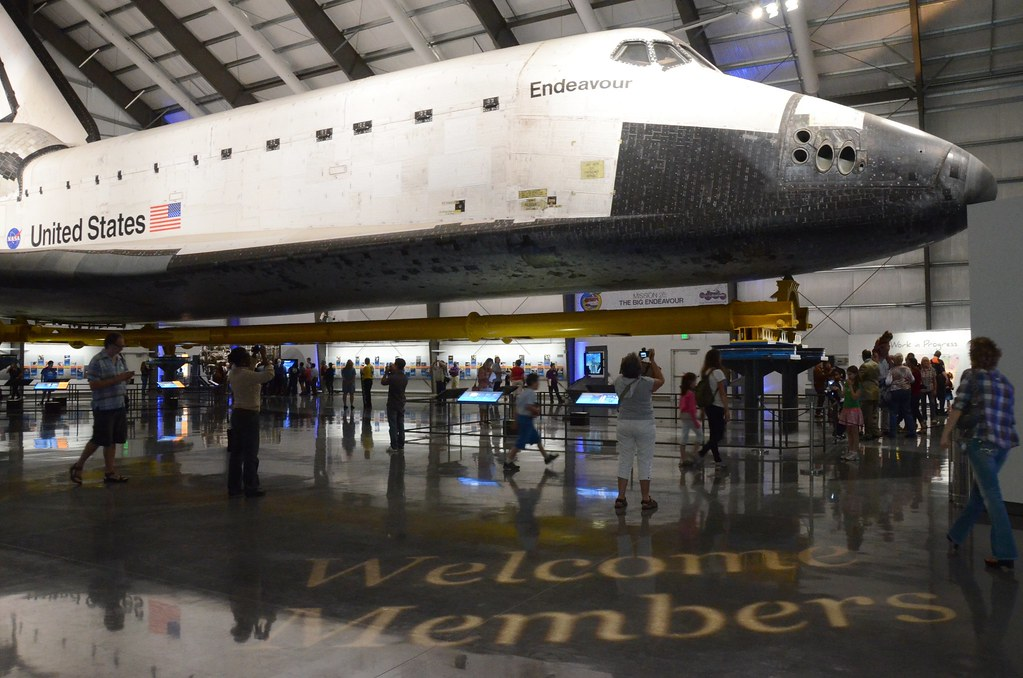 samuel oschin space shuttle endeavour display pavilion events - photo #3
