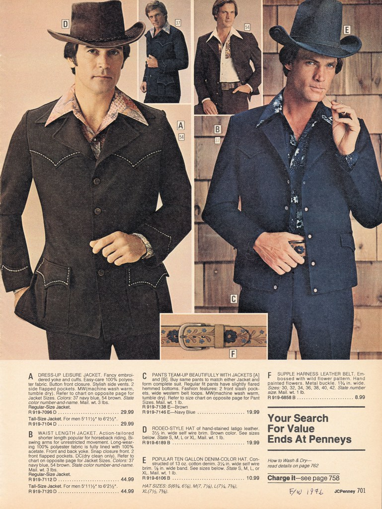 Jc Penney 1976 Fall Winter Pg 701 Western Leisure Suits Flickr Wire Harness By Mazeman2011