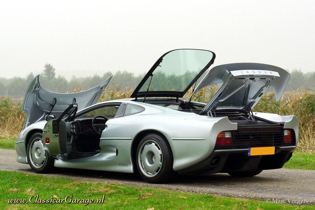 1992 Jaguar XJ 220 - all doors and lids open! | Marc Vorgers | Flickr