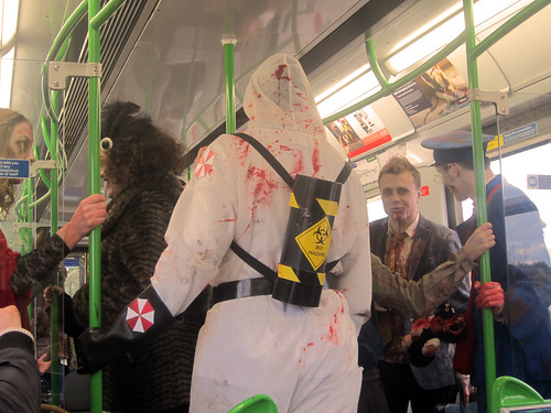 Zombies on the Tube
