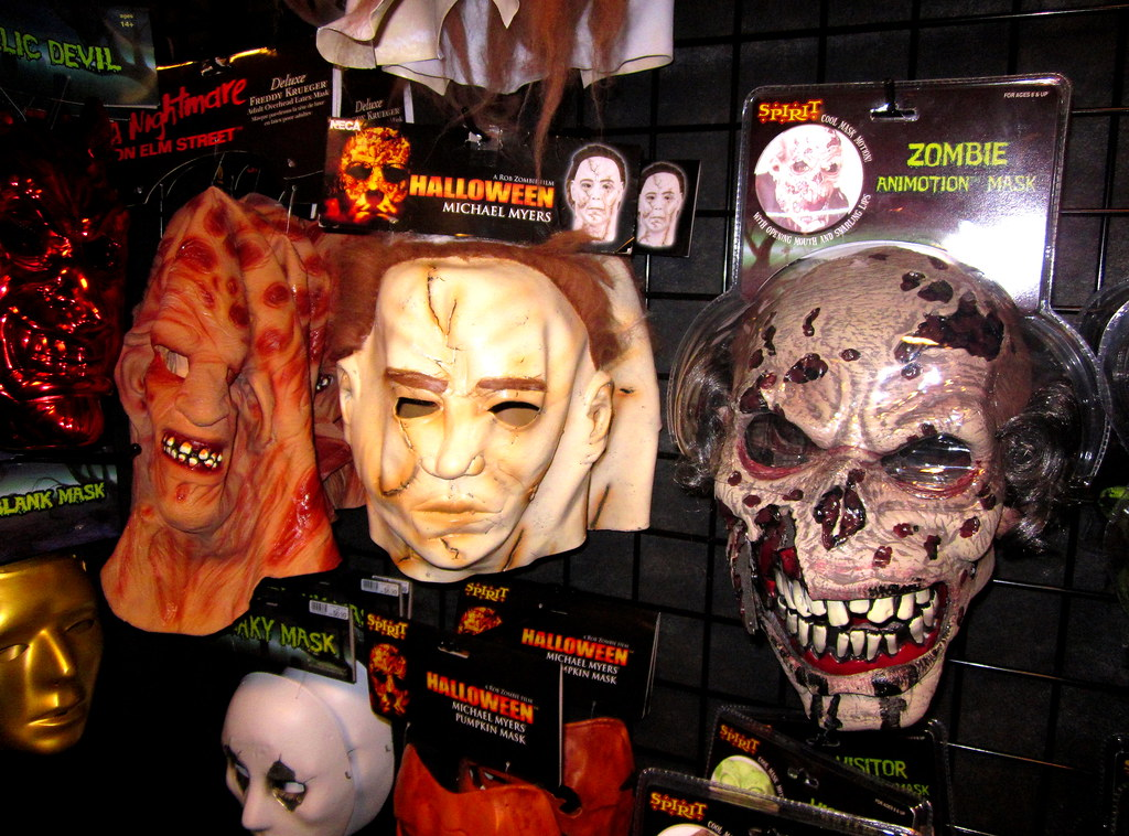 usa halloween store near philadelphia michael myers freddy and zombie masks for sale