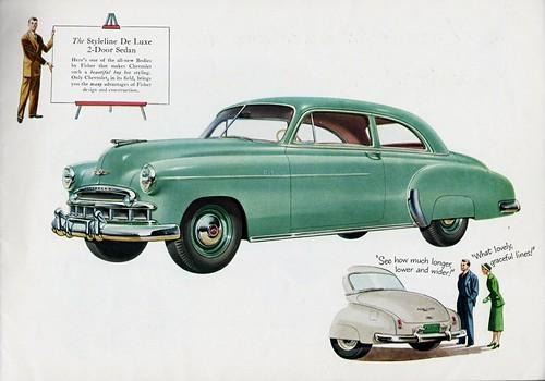 1949 chevrolet styleline de luxe 2 door sedan alden for 1949 chevrolet 2 door sedan