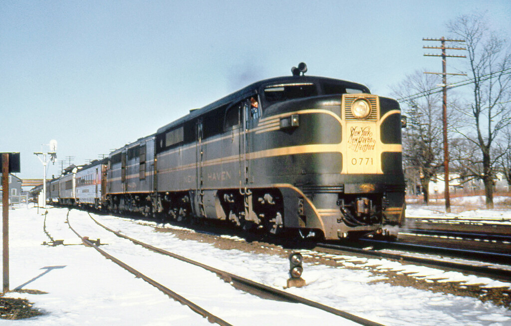 new haven railroad der 3a alco pa 1 locomotive 0771 a flickr. Black Bedroom Furniture Sets. Home Design Ideas