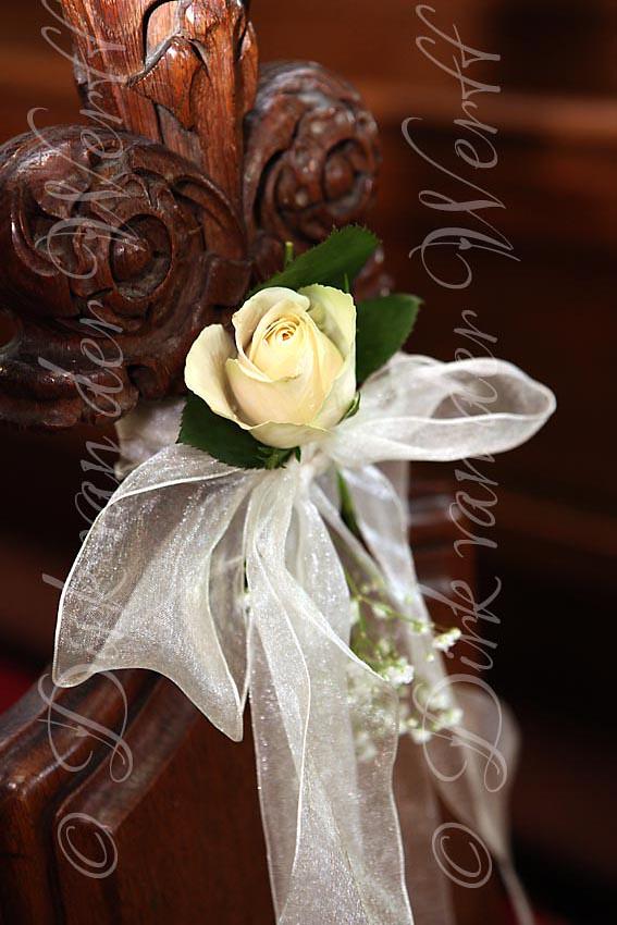 Church Pew Decoration Rockliffe Hall Wedding Weddings Flickr