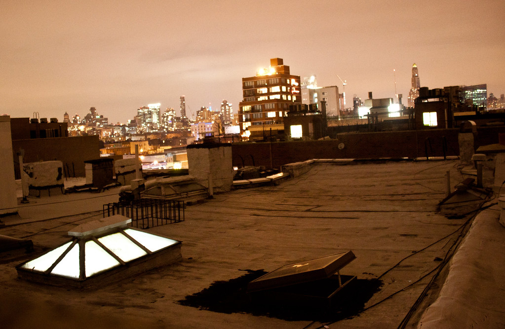 Night Rooftop in Park ...