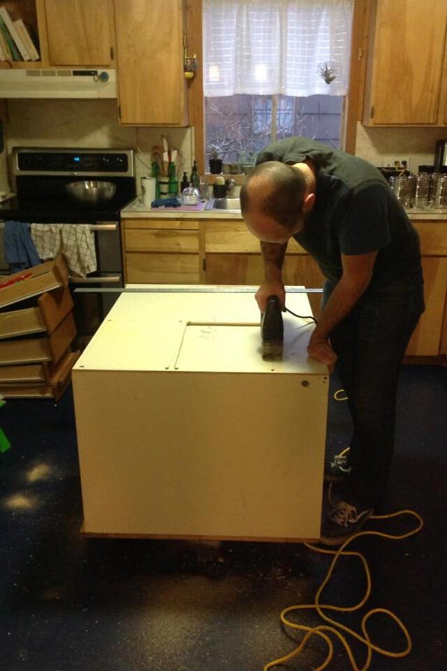 Free Kitchen Island Cabinet Plans