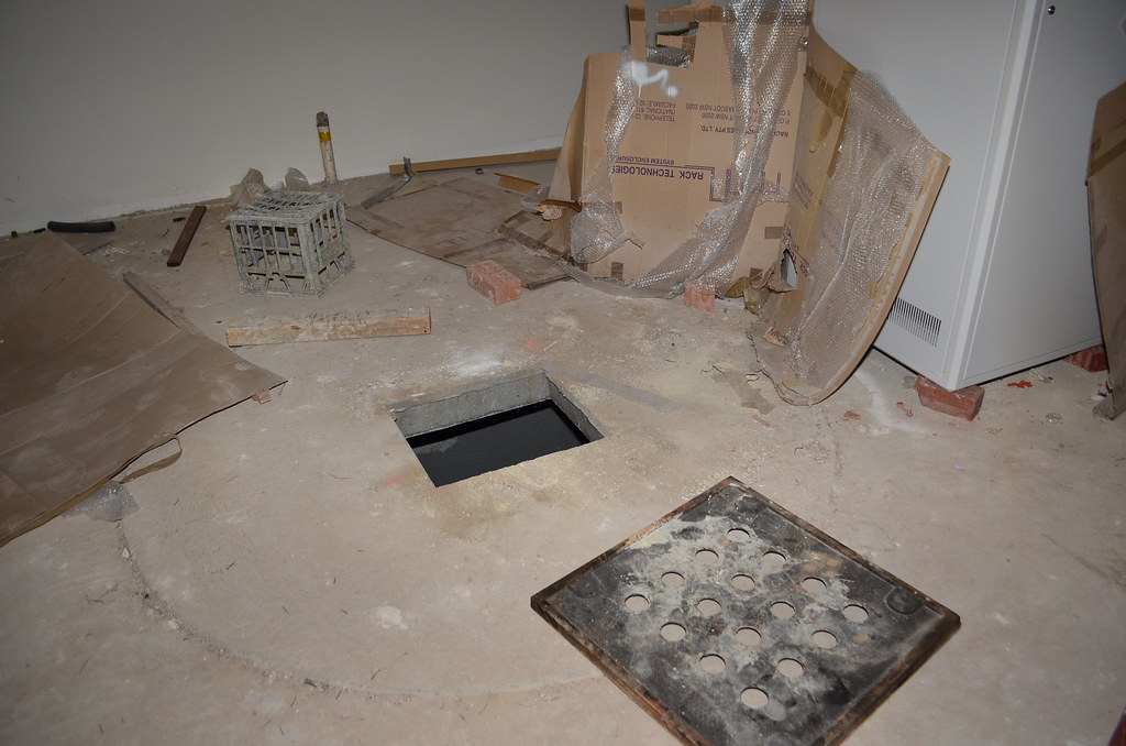 Hole In The Floor In The Basement