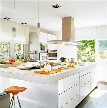 Modernas cocinas blancas danieleralte flickr - Cocinas modernas blancas ...