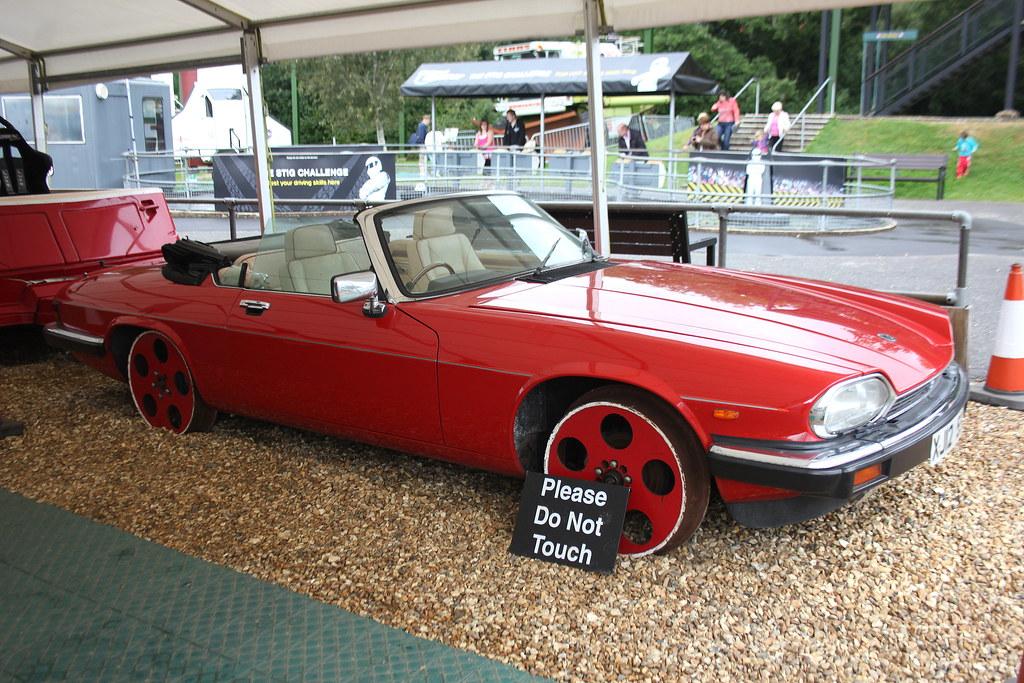 Towed Car Finder >> Jaguar XJ12 'TGV12' Rail Car, Beaulieu Motor Museum | Flickr