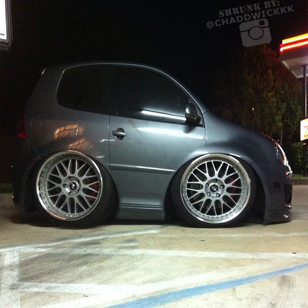 Shrink All The Cars Thanks Chaddwickkk Bagged Vw Vol
