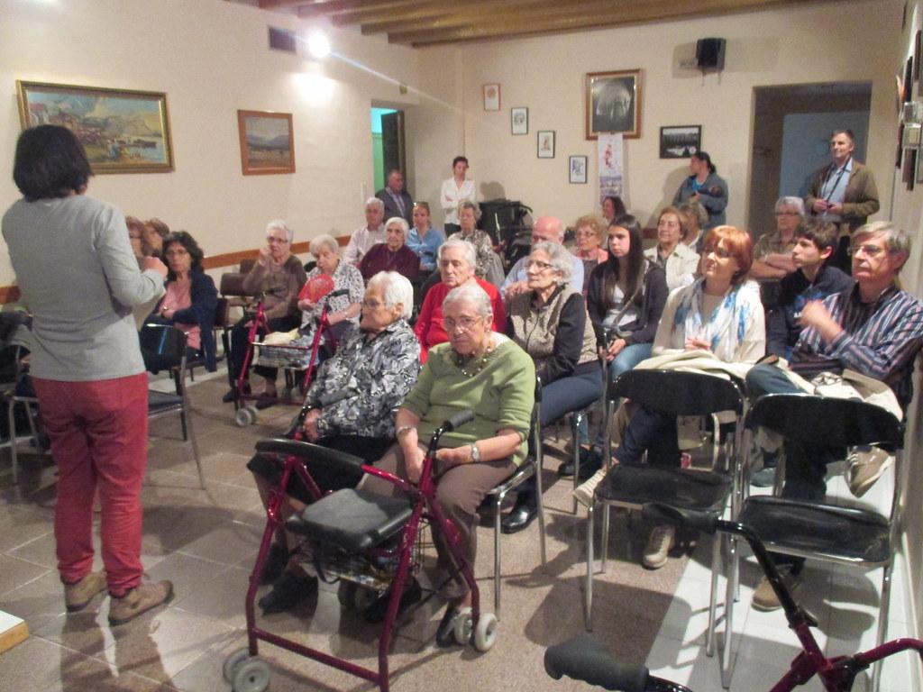 Neus Català i el paper de les dones en la lluita contra el feixisme (Agramunt, 2016)