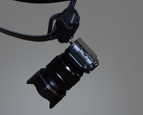 E-P5 Hanging From Black Widow Holster | by tehbieber