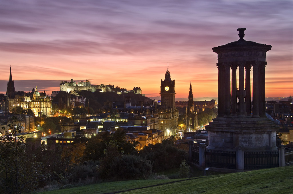 Calton Sunset 9 October 2012 One Of The Classic