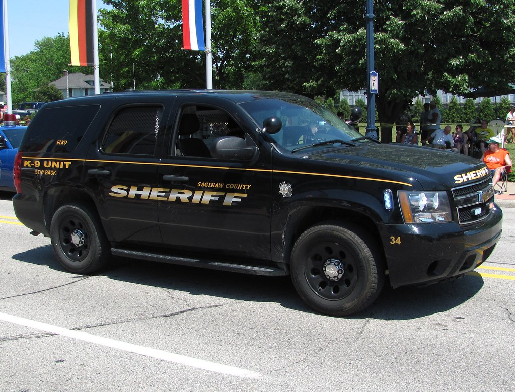 Saginaw County Sheriff Chevrolet Tahoe Of The Saginaw
