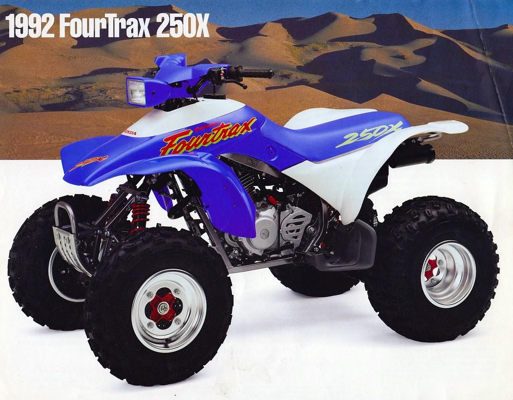 1992 HONDA FOURTRAX 250X
