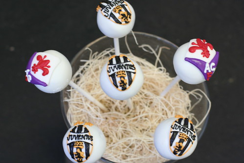 Italian Soccer Team Logos Cake Pops | by Sweet Lauren Cakes