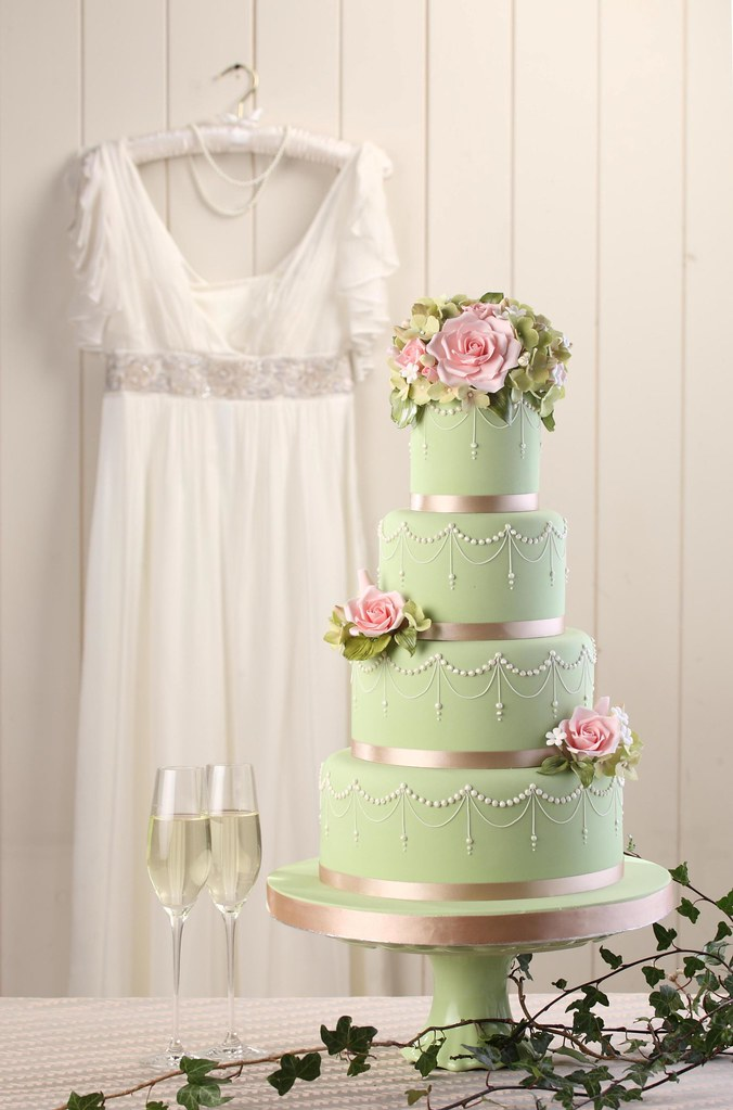 Laduree Inspired Wedding Cake