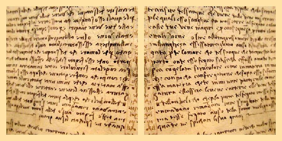 Leonardo's mirror writing | Following on from my recent imag… | Flickr