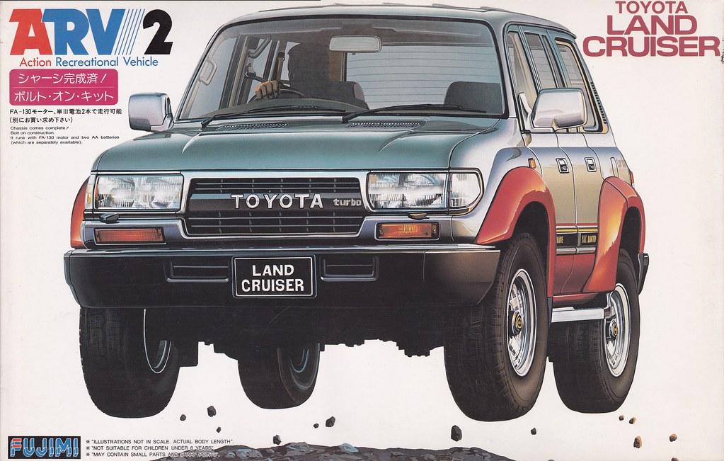 Hdj80 Toyota Land Cruiser Vx80 Fujimi 160023 16002 2 1