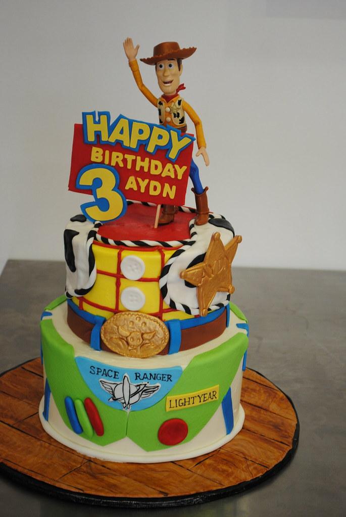 Toy Story Cake Woody Cake Kick Ass Kakes Flickr