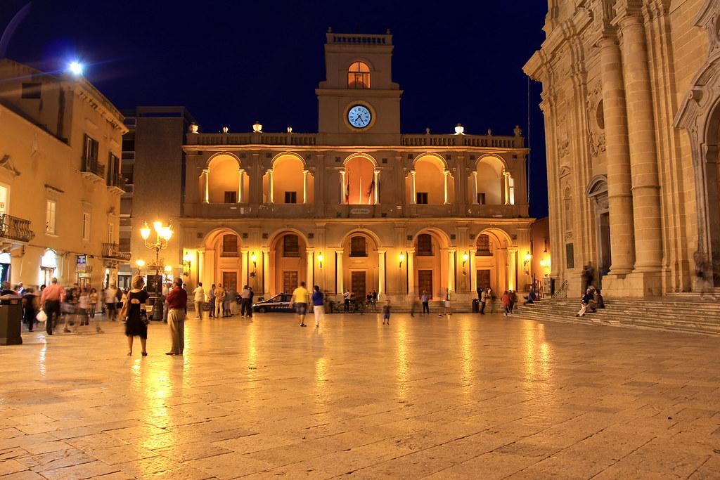 Marsala Sicily Piazza Della Repubblica Gi 224 Piazza