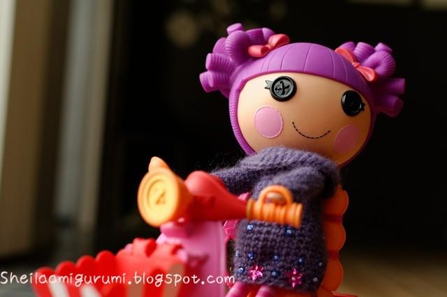 Lalaloopsy doll amigurumi pattern | Lalaloopsy dolls, Crochet toys ... | 333x500